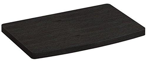 RICOO TV-Drehteller Fernseh-Tisch LCD Fernseh-Stand Drehbar FS053B LED Fernseher Tisch Aufsatz Podest Flachbildfernseher PC Monitor Drehscheibe Drehplatte Bildschirm Untergestell Universal | Schwarz |