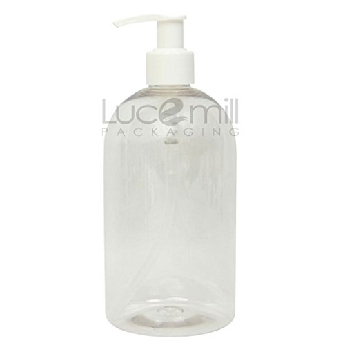 5-x-500ml-clear-plastic-pet-bottles-w-white-pump-dispenser-tops-for-lotions-cosmetics-salons-travel-