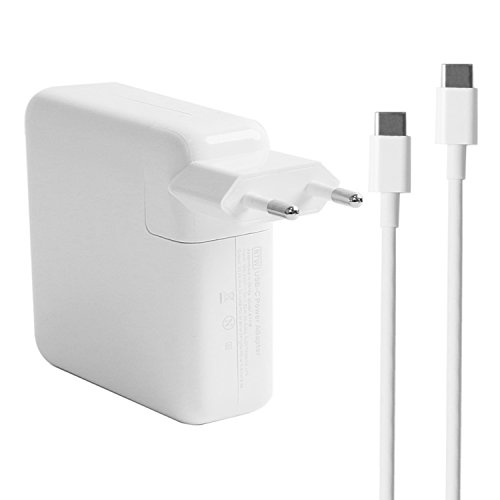 87W USE-C Power adapter Charger for Apple MacBook Pro 15 inch With 6.5Ft Charging Cable & a Carrying - Pro Apple Macbook Adapter