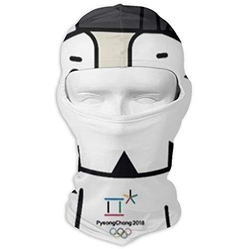 Jxrodekz Tiger Mascot Winter Motorcycle Volle Gesichtsmaske Windproof Neck Cover Hood for Men and ()