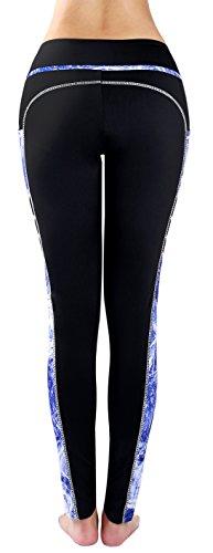 Zinmore - Legging de sport - Femme Black/Printed62