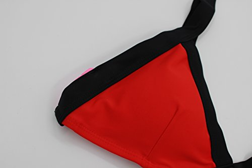 MEISHINE® Elegant Damen Frauen Bandeau Bikini Set Push Up Bademode Badeanzug Mehrfarben 2