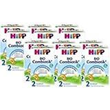 Hipp Combiotik organique 2 lait de suite - à partir de 6 mois, (12 x 600g)