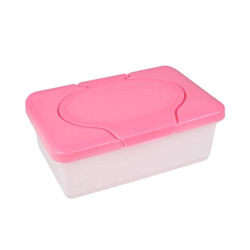 Kicode Nass Seidenpapierhandtuch Kunststoff Box Baby Tücher Presse Pop-up Design Home Lager Halter Container Zubehör