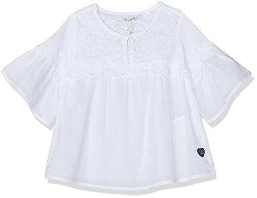 Charlotte Bluse (Pepe Jeans Mädchen Charlotte Bluse, Weiß (White 800), 13-14 Jahre (Herstellergröße: 14))