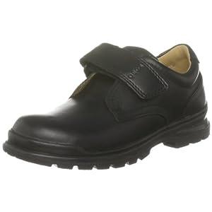 Geox J WILLIAM Q, Jungen Velcro Schuhe, Schwarz (BLACKC9999), 37 EU (4 Kinder UK)