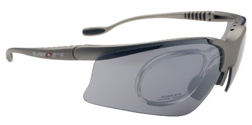 SWISS EYE STINGRAY V   GAFAS DE SOL DEPORTIVAS PLATA MATT SILVER TALLA:140MM