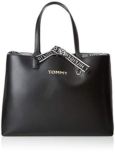 Iconic Tommy Tote, Schwarz (Black), 13x30.5x43 cm ()