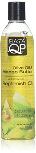 Elasta QP Olive Oil & Mango Butter Growth Oil 237ml -