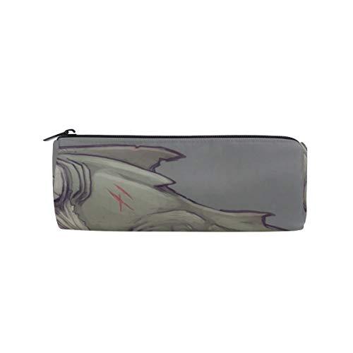 Pencil Pouch Swans Woodland Glow Flies Zipit Cute Pencil Cases School Pen Organizer Holder Womens Makeup Bag