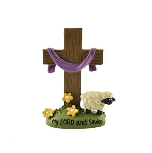 THEALEEWIN Geburt Christi Kreuz Home Decoration Dekoration Geschenk