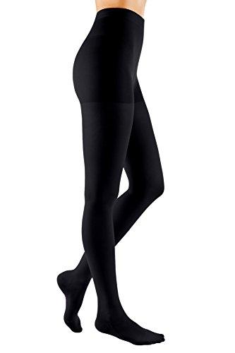 Medi Sigvaris 500Gummi 30-40mmHg OPEN TOE Unisex Oberschenkel hohe Socke mit Taille Befestigung - Taille Befestigung