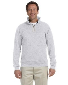 Jerzees 9,5 oz Super Sweats® 50/50 Quarter-Zip Pullover Gr. US XX-Large, asche -