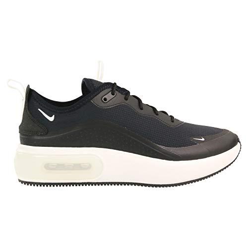 Nike Damen W AIR MAX Dia Gymnastikschuhe, Schwarz (Black/Summit White-Summit White 001), 41 EU