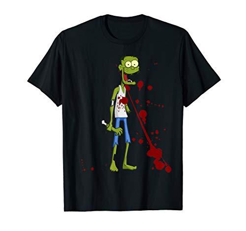 Funny Zombie Halloween Costume - Lustiges Halloween Kostüm T-Shirt (Awesome Zombie Kostüm)