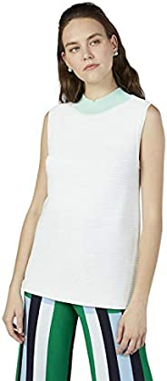 Iconic Women's 2090869 SS21TRICMSHT Knitted T-Shirt, C