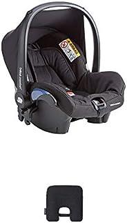 Bébé Confort Seggiolino Auto Citi Ovetto Neonato 0-13 Kg, Essential Black, con Dispositivo Antiabbandono, Nero
