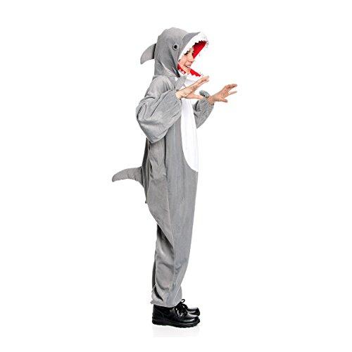 Kostümplanet® Hai-Kostüm Kinder Größe 140/152
