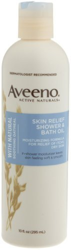Aveeno Oil Bath & Shower Oil 6 Pack