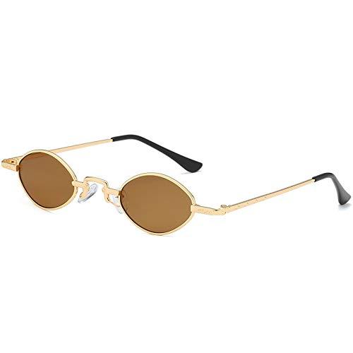 ANSKT Vintage small Box Sunglasses, 5UV 400 Outdoor-Sportbrillen polarisierte Sonnenbrillen Reitbrillen, geeignet zum Skifahren von Golf-Bikes beim Fischen mit Baseball