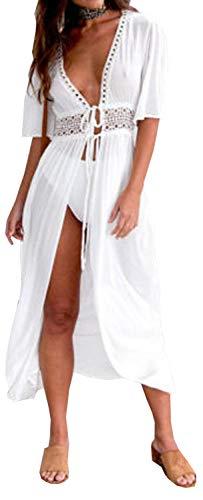 Carolilly Vestido Playa Mujer Camisola Pareos Playa