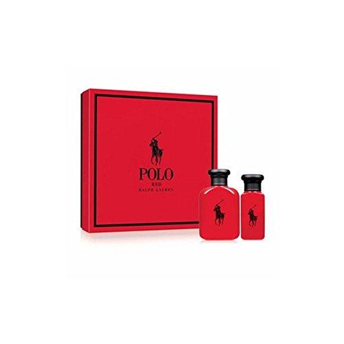 Ralph Lauren Polo Red Eau de Toilette Geschenk-Set für Männer–75ml Polo Cologne Spray