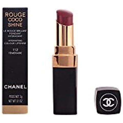 Chanel Rouge Coco Shine - Barra de labios, color 112-téméraire, 3 gr