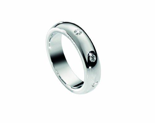 Morellato donna-anello da donna Love SNA04, acciaio inossidabile, 58 (18.5), cod. SNA04018