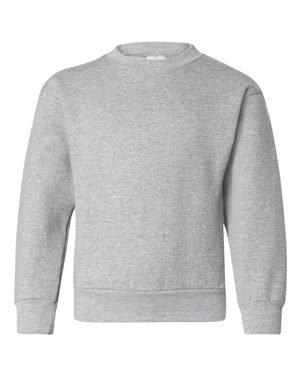 Hanes Youth ComfortBlend® EcoSmart® Crewneck Sweatshirt S Grey