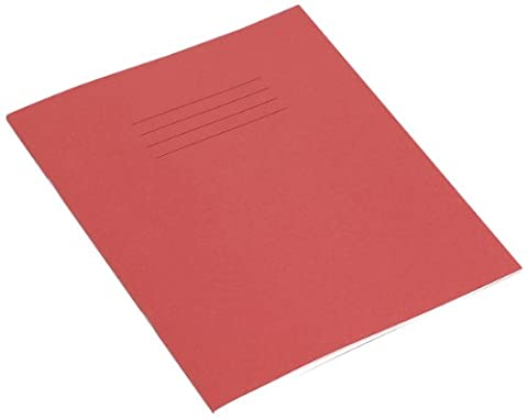 RHINO Red 200x165 48 Page Exercise Book - Wide Fein