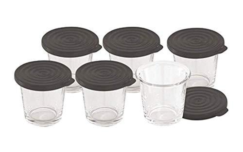 Moulinex - Verrines Par 6 Pour Cookeo - Xa606000 Pour Pieces Cuisson Petit Electromenager