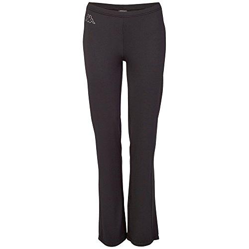 Kappa, Pantaloni Donna Pamela, Nero (Black), L