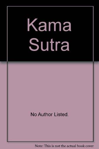 Kama Sutra par Vatsyayana