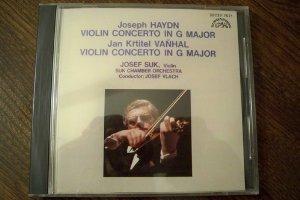 Haydn: Violin Concerto in G Major / Vanhal: Violin Concerto in G Major