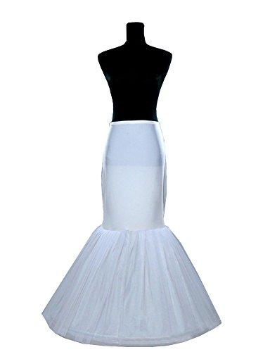 Beauty-Emily® Petticoat Elasticized Tutu Jupe nuptiale