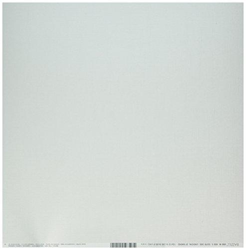 Bazzill Basics Papier für ScrapBooking, Blatt Bling Glass Slipper, Beige (Bazzill Bling-papier)