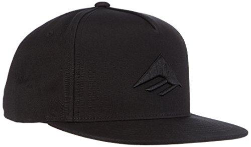 Emerica Cap Triangle Snapback FA15, Black, One size, EMEMCAP_TRIASSP15