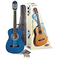 Stagg C505BL Pack de Guitare classique Taille 1/4 Bleu