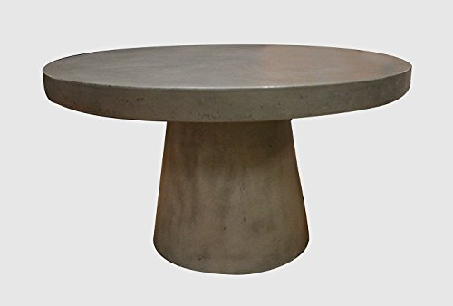 Meubletmoi Table Basse Ronde - diamètre 70 - Design Contemporain loft et Industriel