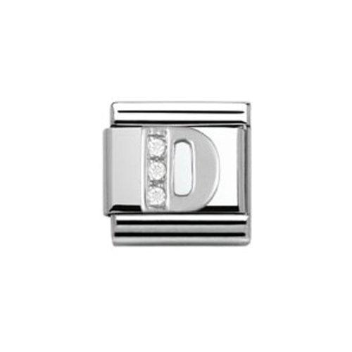 Nomination Composable Damen-Bead Classic Buchstabe Edelstahl (D) 330301/04
