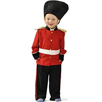 Jungen Kids Royal Palace Guard / Guradsman Kostüm 5-7 Jahre [Spielzeug] (Palace Guard Kinder Kostüme)
