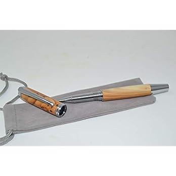 Holz Rollpen Rollerball Eibe pen Holz Eibenholz Handarbeit Pen Geschenk Geschenkidee Unikat handmade