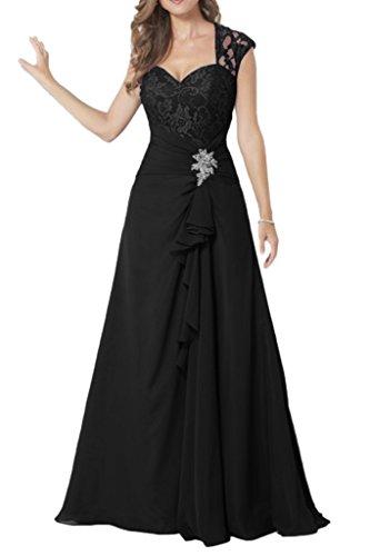 Missdressy - Robe - Plissée - Femme Noir - Noir