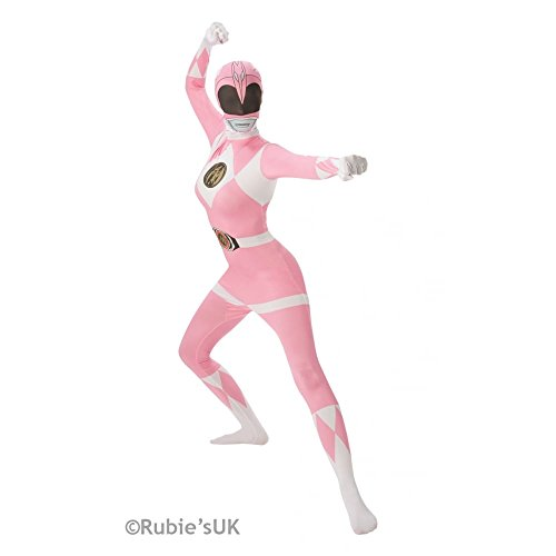 Mighty Morphin Power Rangers Pink Ranger - Adult 2nd Skin Costume Lady: SMALL