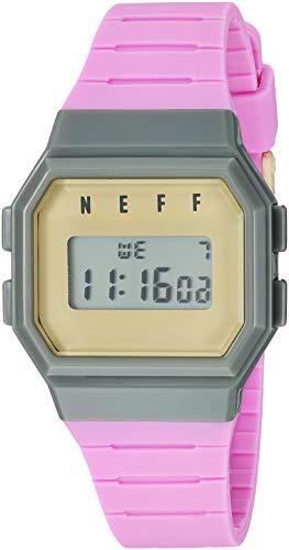 Neff Herren Uhren Flava pink Einheitsgröße