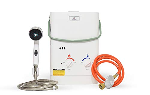 Eccotemp CEL5 Portable Tankless Water Heater, 30mbar