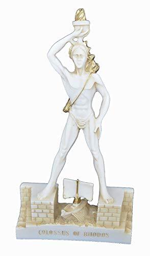 Estia Creations Koloss von Rhodos Skulptur Gott der Sonne Helios Kleine Statue Aged (Koloss-statue)