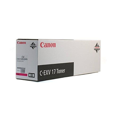 Preisvergleich Produktbild Canon 0260B002 C-EXV 17 Tonerkartusche magenta 36.000 Seiten