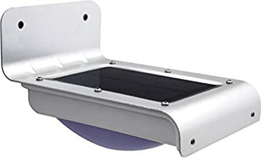 ZELENOR LED Motion Sensor Lamp for Home Garden Waterproof Lantern Microwave Radar Sensor Security Outdoor Light(Cool White)