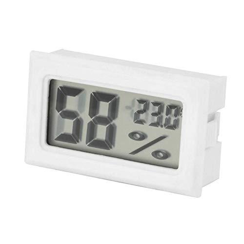 display08 Mini Digital LCD Innentemperatur Luftfeuchtigkeitsmesser Thermometer Hygrometer Multi